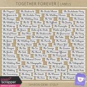 Together Forever- Labels