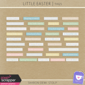 Little Easter- Tags