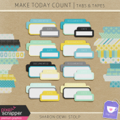 Make Today Count- Tabs & Tapes