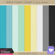 Make Today Count- Solid Papers