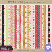 Mom's Home- Patterned Papers