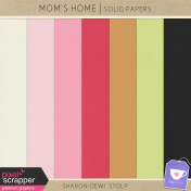 Mom's Home- Solid Papers