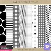 Paper Templates #8
