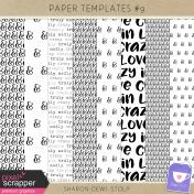 Paper Templates #9