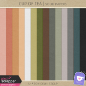Cup Of Tea - Solid Papers