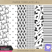 Paper Templates #13