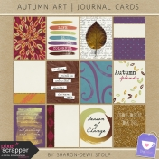 Autumn Art- Journal Cards