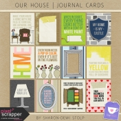 Our House- Journal Cards