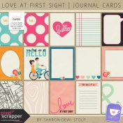 Love At First Sight- Journal Cards