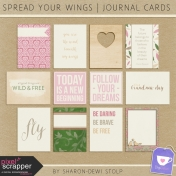 Spread Your Wings- Journal Cards