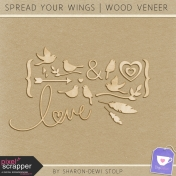 Spread Your Wings- Wood Veneer