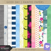 Good Day- Painted Papers