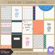Good Day- Journal Cards