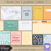 Work Day- Journal Cards