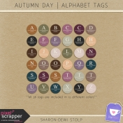 Autumn Day- Alphabet Tags