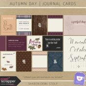 Autumn Day- Journal Cards