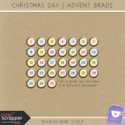 Christmas Day- Advent Brads