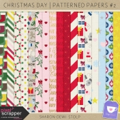 Christmas Day- Patterned Papers #2