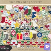 Christmas Day- Stickers