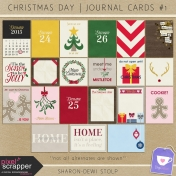 Christmas Day- Journal Cards #1