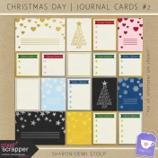 Christmas Day- Journal Cards #2