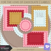 For The Love Of Chocolate- Labels