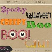 Halloween 2015: Elements 09