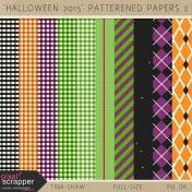 Halloween 2015: Patterned Papers 02