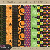 Halloween 2015: Patterned Papers 04