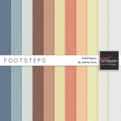 Footsteps Solid Papers Kit