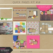 Quick Pages Kit #28