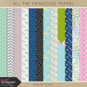 All the Princesses Papers Kit