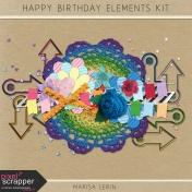 Happy Birthday Elements Kit