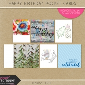 Happy Birthday Pocket Cards Kit