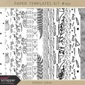 Paper Templates Kit #102