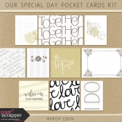 Our Special Day Pocket Cards Kit #1