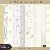 Our Special Day Papers Kit #1