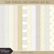 Our Special Day Papers Kit #2