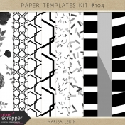 Paper Templates Kit #104