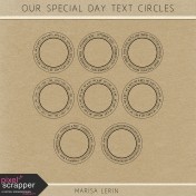 Our Special Day Text Circles Kit