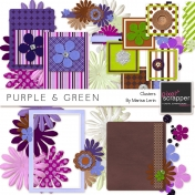 Purple & Green Clusters Kit