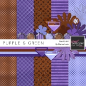 Purple & Green Mini Kit #4