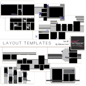 Layout Template Set #1 Kit