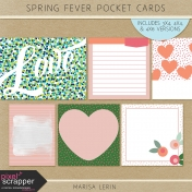 Spring Fever Pocket Cards Kit