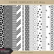 Paper Templates Kit #105