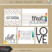 Ice Cream Pocket Cards Kit