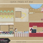Quick Pages Kit #36