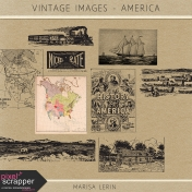 Vintage Images Kit- America