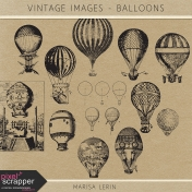 Vintage Images Kit- Balloons