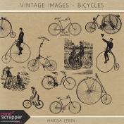 Vintage Images Kit - Bicycles